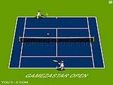 Play Gamezastar open tennis Game