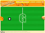 Play Garfield tabby tennis Game