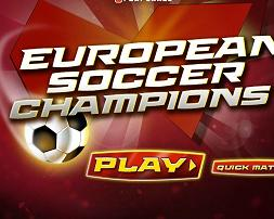 Play European Soccer Champions Game
