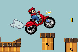Play Mario bros motobike 3 Game