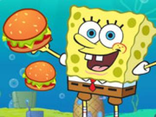 Play Spongebob Cannon Hamburgerun Game