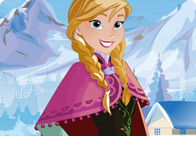 Play Frozen Princess Anna Frosty Makeover Game