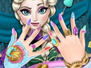 Play Elsa Nail Spa Game