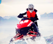 Play Snowmobile Cross Country Game