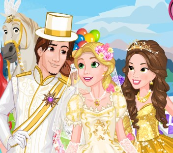 Play Rapunzel Wedding Prep Game