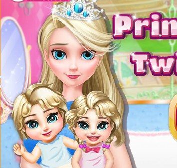 Play Princess Elsa Twins Care Game