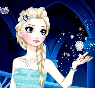 Play Elsa Total Makeover Game