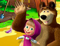 Play Masha and the Bear Farm Adventure Game