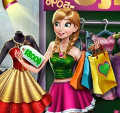 Play Anna Realife Shopping Game
