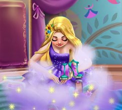 Play Rapunzel Wardrobe Game