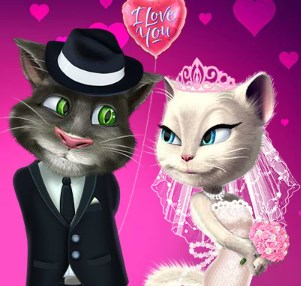 Play Talking Tom And Angela Wedding Party Game