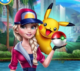 Play Elsa Pokemon Go Game