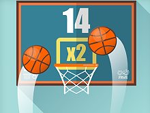 Play Basketball FRVR Game